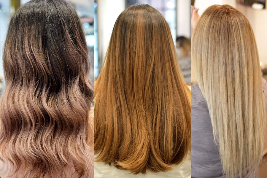 Degrade χρώμα στα μαλλιά